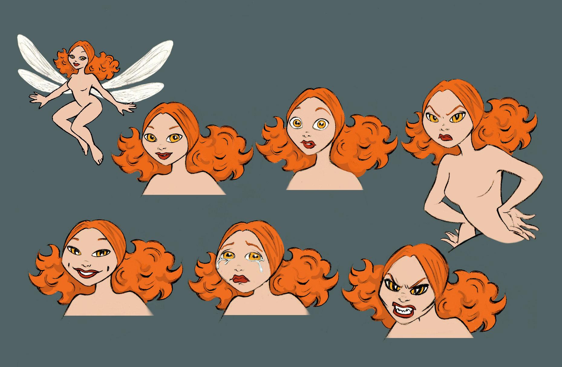 Character Design Lynda : Lynda castangia animation cie